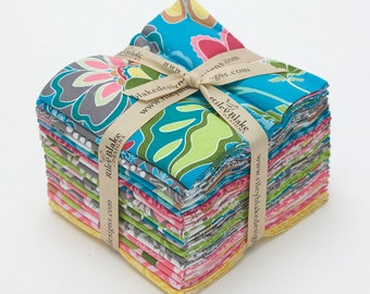 Fantine Fat Quarter Bundle by Lila Tueller for Riley Blake, Complete Collection, 18 Fabrics, Factory Cut