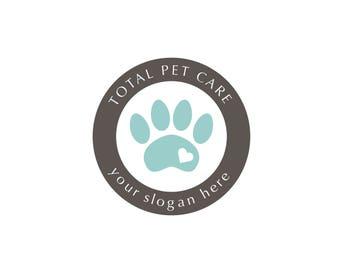 Premade Logo, Pet Care Logo, Dogs and Cats Logo, Business Branding, Modern Logo, Business Marketing