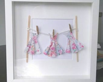 Handmade Paper Dress Frame