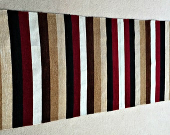 "SALE, Handwoven Rug, Kilim Rug, Colorful Carpet Rug,  Double Face Rug 73""x25"""