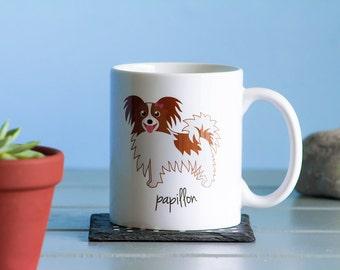 Papillon Mug (girl)