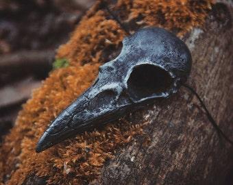 Rabenschädel Kette (fake skull) - Gothic - Larp - Witchy - Fantasy - Ravenskull - Necklace