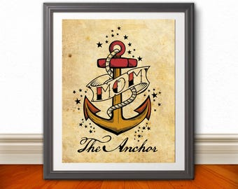 MOTHER'S DAY Poster Print | 11 x 14 | The Anchor
