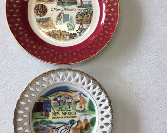 New Mexico decorative plates