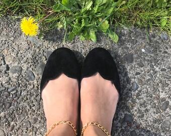 Womens Flat Sandal / Shoes color Black