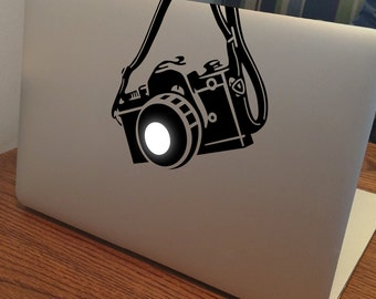 """CAMERA MacBook Decal Sticker fits 11"""" 13"""" 15"""" and 17"""" models"""