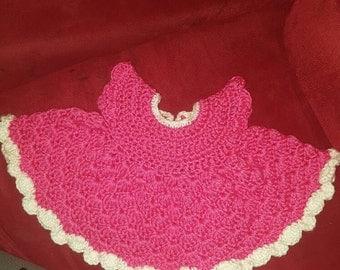 Newborn Crocheted dress