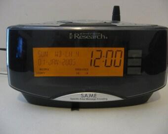 Emerson Research Alarm Clock Radio w/ NOAA Weather Hazard Alert