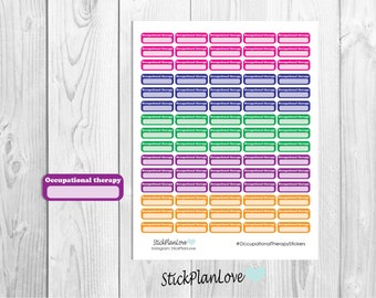 Occupational therapy Stickers, OT Stickers, Planner Stickers, Therapy Stickers, Special Needs Stickers, Special Education Stickers, Stickers