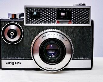 ARGUS Autronic I with Argus Cintar 50mm f/2.8 Lens + Original case