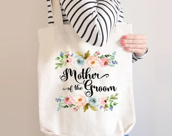 Mother Of The Groom Tote, Mother Of The Groom Tote Bag, Custom Mother Of The Groom Bag, Mother Of the Groom Gift, Gift For Mother Of Groom