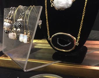 Custom Made Stone Necklaces
