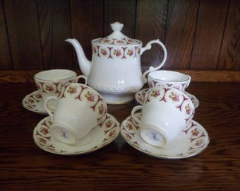 Vintage Sheltonian China Part Tea Service