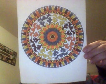 Colored Mandala Art