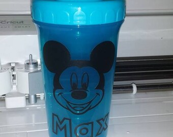 Custom Sippy Cups  Pink or blue