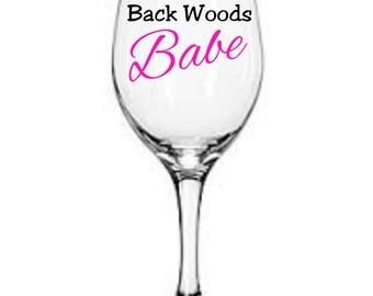 Back woods babe