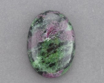 Ruby in Zoisite Cabochon