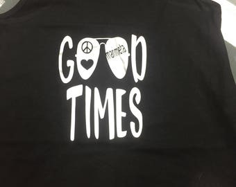 Good Times Camp Shirt