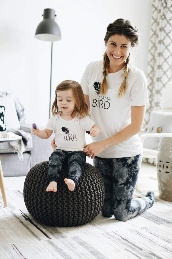 MAMA BIRD + Baby Bird Mommy and Me Tees