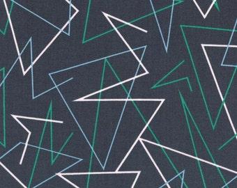Cotton + Steel – Kujira & Star by Rashida Coleman Hale, Trajectory - Fog