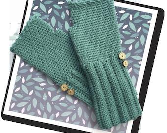 Fingerless Mitts Crochet Kit