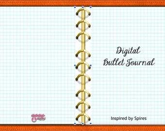 Digital Bullet Journal, Orange