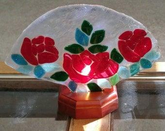Rose Fan Lamp-Rose Lamp-Fan Lamps-Nightlights-Table Lamps-Desk Lamps-Lighting