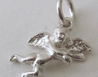 Genuine Solid 925 Sterling Silver ANGEL CHERUB Charm/Pendant