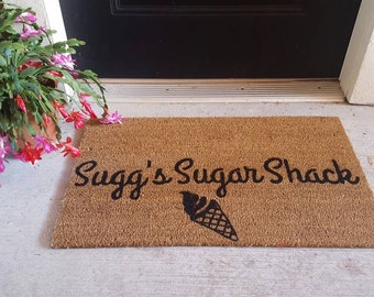 Custom Doormat | Personalized Doormat | Custom Door Mat | Design Your Own Doormat | Welcome Mat | Seasonal | Straw Mat | Handpainted | Rug