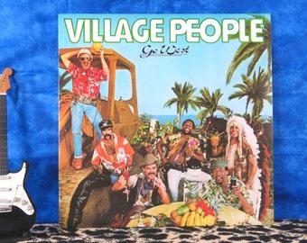Village People - Go West, vintage LP