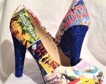 Disney shoes / heels* * * uk sizes 3-8 * * *