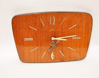 Vintage Mantel Collectible mechanical clock  Mayak, Majak ANTIQUE DECO USSR
