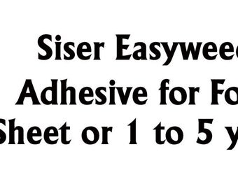 12in EasyWeed Adhesive (For Foils) Sheets