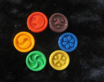 3D Printed Sage Medallions from Legend of Zelda: Ocarina of Time