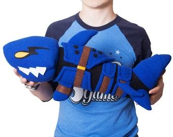 League of Legends Jinx Fishbone Rocket Launcher Plush Toy
