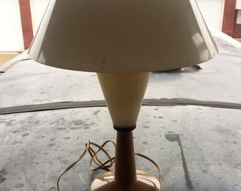 Vintage Mid Century Modern Space Age Lamp Ca.1964 by the C N Burman Company