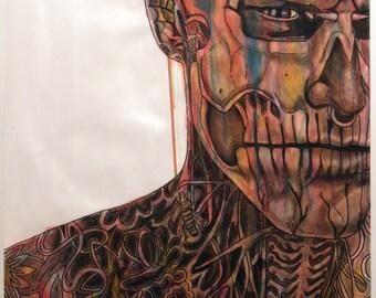 Paint - Zombie Boy