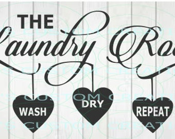 Laundry Room - Wash Dry Repeat