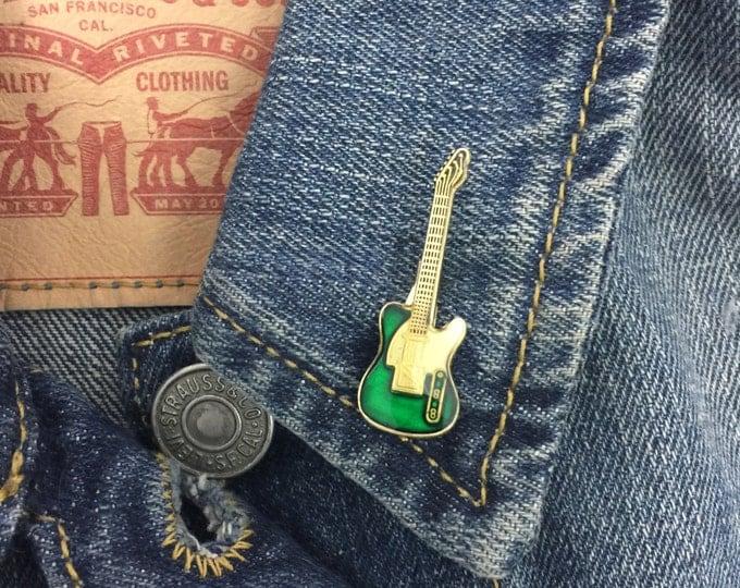 Vintage Green Electric guitar