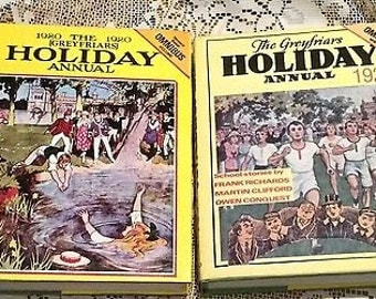 Vintage Greyfriars HOLIDAY Annuals x2