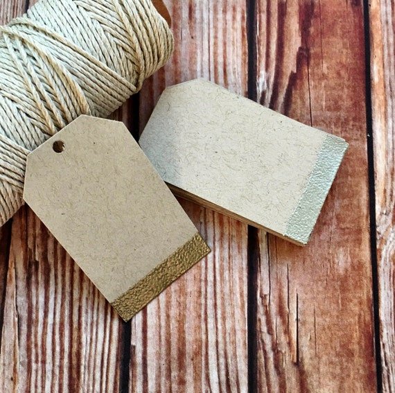 Blank paper tags, set of 25 custom labels, wedding place cards, embossed wedding favor gift tags, DIY wedding decorations, party favor tags