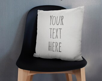 kissen mit spr che etsy. Black Bedroom Furniture Sets. Home Design Ideas