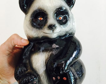 Vintage Ceramic Panda Bear
