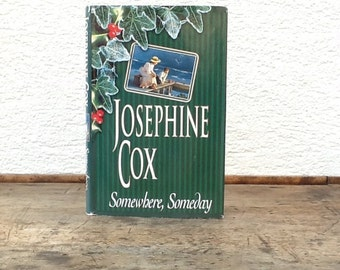 Hollow book safe Josephine Cox Somewhere Someday secret compartment hidden stash box upcycled recycled repurposed