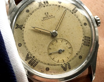 Currently in Service: 35mm Omega Vintage Automatic Watch
