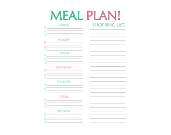 Meal Prep Printable