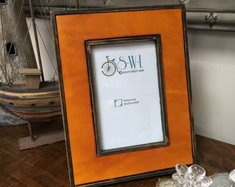 Wooden Photo Frame - Industrial Look
