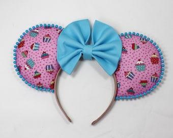 Disney Ears Cupcake Fun