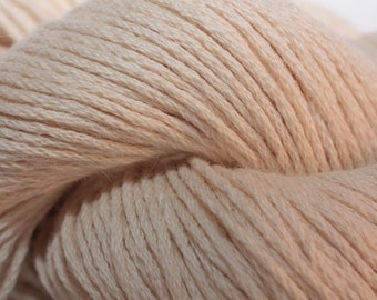 Classic Elite Canyon, color 3716, lot 9857 (5 skeins) and lot 4352 (5 skeins)    off-white