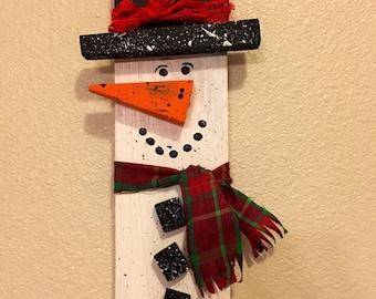 Snowman wall decor